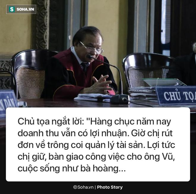 [Photostory] Chủ tọa nhắn bà Lê Hoàng Diệp Thảo: Chị về xin lỗi chồng... chị lại sống như bà hoàng - Ảnh 4.