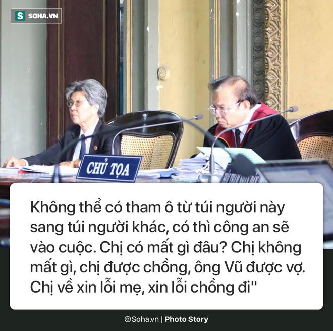 [Photostory] Chủ tọa nhắn bà Lê Hoàng Diệp Thảo: Chị về xin lỗi chồng... chị lại sống như bà hoàng - Ảnh 8.