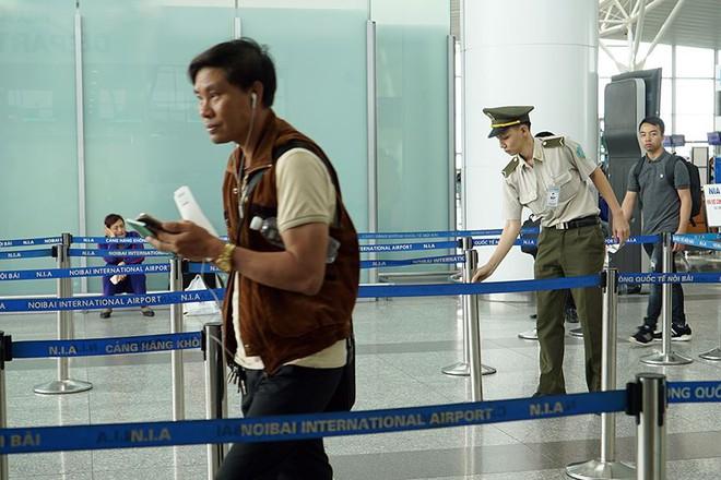 Bên trong khu an ninh sân bay Nội Bài trước thượng đỉnh Mỹ - Triều - Ảnh 4.