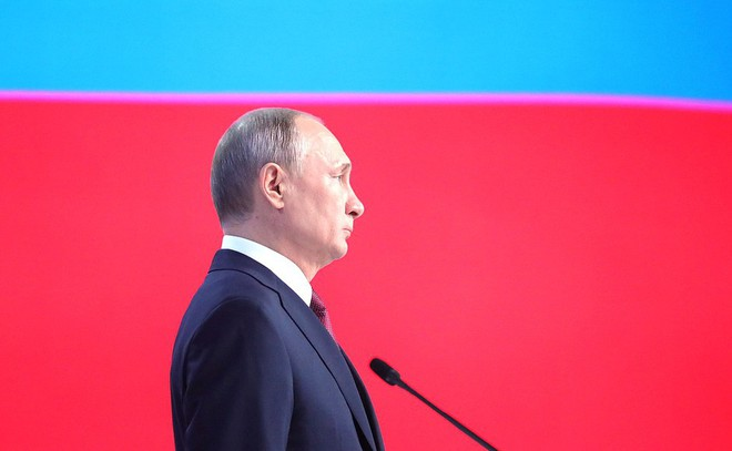Thông điệp liên bang 2019: Khoe hàng loạt siêu vũ khí, TT Putin cảnh báo không kẻ nào có thể gây sức ép với nước Nga - Ảnh 9.