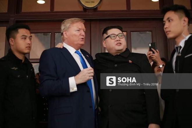 Kim - Trump giả và dàn vệ sĩ áo đen bị tống tiễn ra khỏi khách sạn vì không đặt phòng - Ảnh 10.