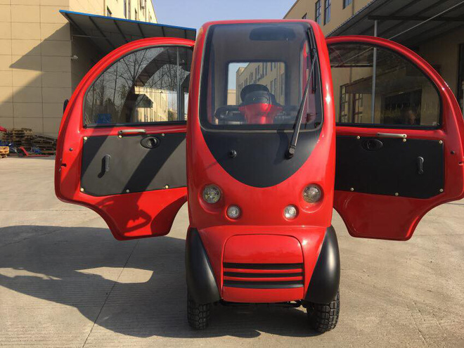 Có gì trong chiếc ô tô điện đang được chào bán tại Việt Nam với giá 40 triệu đồng? - Ảnh 11.
