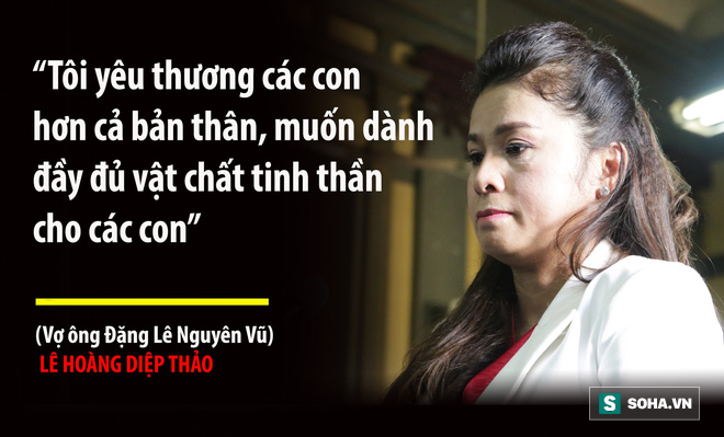 Bà Lê Hoàng Diệp Thảo: Thẩm phán có chắc việc anh Vũ không tiếp tục đưa người đàn bà khác về nhà? - Ảnh 8.