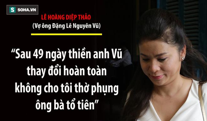 Bà Lê Hoàng Diệp Thảo: Thẩm phán có chắc việc anh Vũ không tiếp tục đưa người đàn bà khác về nhà? - Ảnh 5.