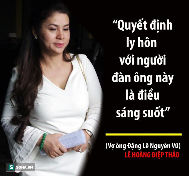 Bà Lê Hoàng Diệp Thảo: Thẩm phán có chắc việc anh Vũ không tiếp tục đưa người đàn bà khác về nhà? - Ảnh 18.