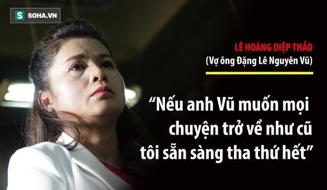 Bà Lê Hoàng Diệp Thảo: Thẩm phán có chắc việc anh Vũ không tiếp tục đưa người đàn bà khác về nhà? - Ảnh 3.