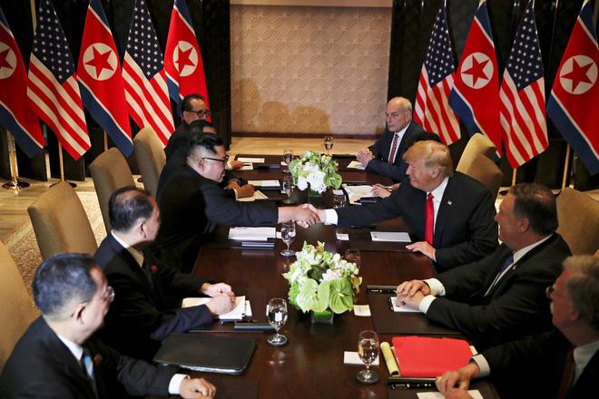 Chủ nhà Hội nghị Thượng đỉnh Mỹ-Triều - Cơ hội Dubai, Thượng Hải chi bao nhiêu cũng không có được - Ảnh 1.