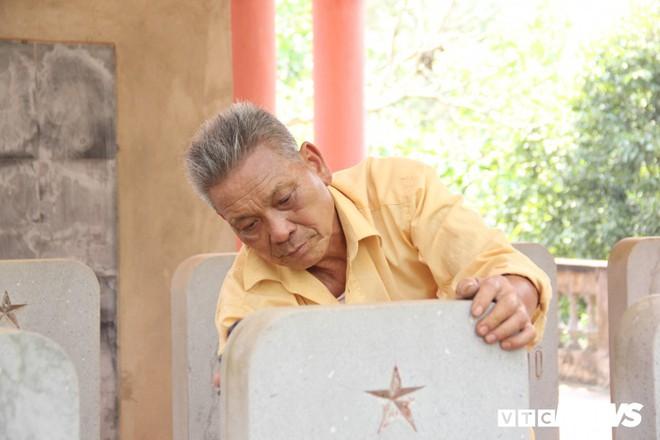 Ảnh: Người thương binh hơn 20 năm cặm cụi chăm sóc khu tưởng niệm liệt sĩ Triều Tiên ở Bắc Giang - Ảnh 7.