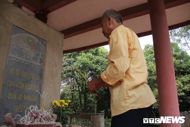 Ảnh: Người thương binh hơn 20 năm cặm cụi chăm sóc khu tưởng niệm liệt sĩ Triều Tiên ở Bắc Giang - Ảnh 8.
