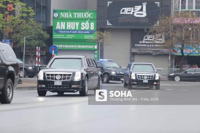[NÓNG] Dàn siêu xe hộ tống của Tổng thống Trump đổ bộ một cây xăng dân sự ở Hà Nội - Ảnh 1.