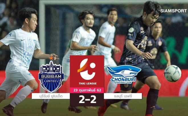 Fan Thái Lan ấn tượng, liên tục khen ngợi Xuân Trường ngày ra mắt Buriram ở Thai League