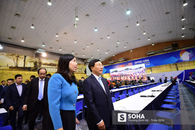 [ẢNH] Khai trương trung tâm báo chí quốc tế phục vụ thượng đỉnh Mỹ-Triều lần 2 tại Hà Nội - Ảnh 2.