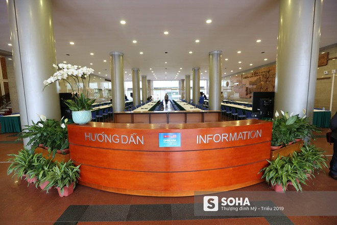 [ẢNH] Khai trương trung tâm báo chí quốc tế phục vụ thượng đỉnh Mỹ-Triều lần 2 tại Hà Nội - Ảnh 14.