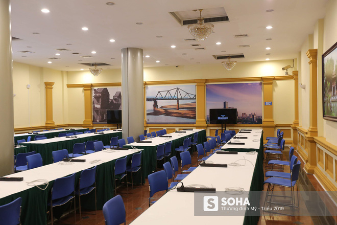 [ẢNH] Khai trương trung tâm báo chí quốc tế phục vụ thượng đỉnh Mỹ-Triều lần 2 tại Hà Nội - Ảnh 17.