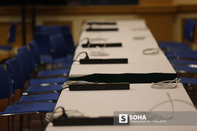 [ẢNH] Khai trương trung tâm báo chí quốc tế phục vụ thượng đỉnh Mỹ-Triều lần 2 tại Hà Nội - Ảnh 18.