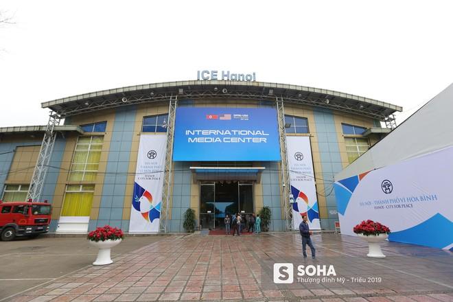 [ẢNH] Khai trương trung tâm báo chí quốc tế phục vụ thượng đỉnh Mỹ-Triều lần 2 tại Hà Nội - Ảnh 9.