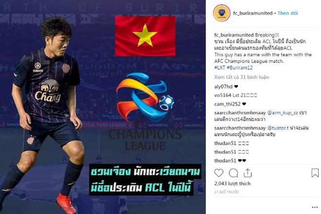 CĐV Buriram phấn khích khi Xuân Trường được dự AFC Champions League - Ảnh 1.