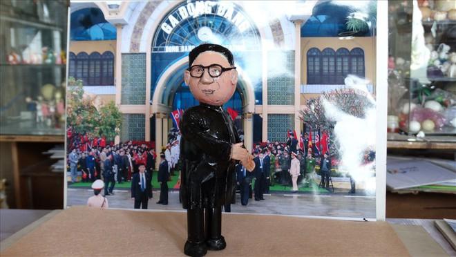 Thầy giáo tạo hình lãnh đạo Donald Trump và Kim Jong-un bằng vỏ trứng  - Ảnh 6.