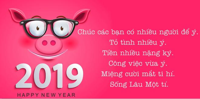 Tin nhắn chúc mừng năm mới Kỷ Hợi 2019 đến bạn bè, đồng nghiệp hay, dí dỏm, ý nghĩa - Ảnh 1.