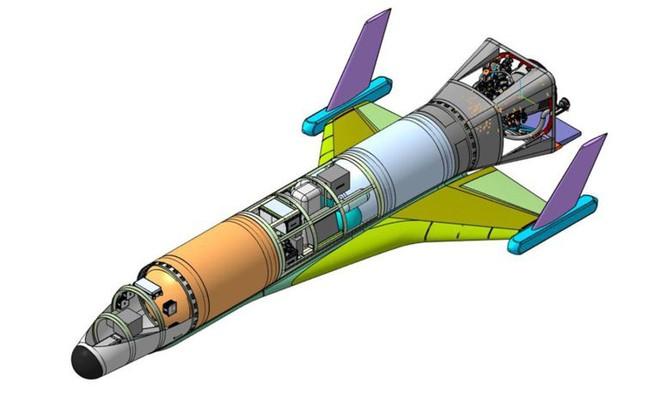 Lộ diện máy bay vũ trụ không người lái siêu thanh đặc biệt của Nga - Ảnh 2.