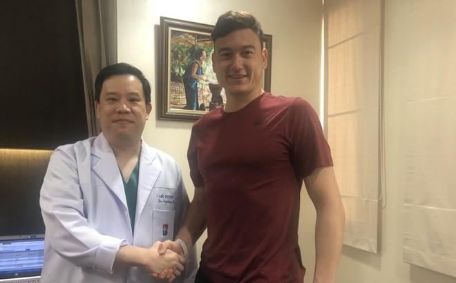 Bác sĩ Thái Lan khen Đặng Văn Lâm có cơ bắp