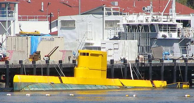 Giải mã chiếc tàu ngầm màu vàng bí ẩn của Hải quân Mỹ - Ảnh 3.