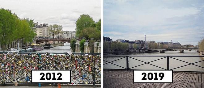 Pont des Arts ở Paris