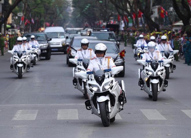 Toàn cảnh Lễ đón Chủ tịch Triều Tiên Kim Jong Un thăm chính thức Việt Nam - Ảnh 2.