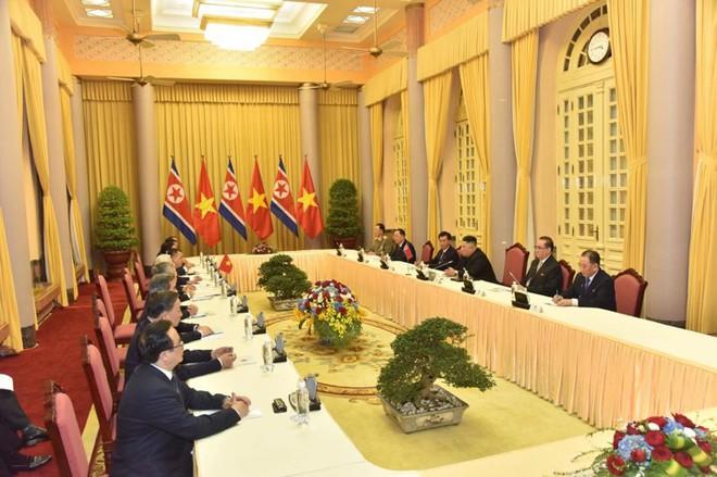 Toàn cảnh Lễ đón Chủ tịch Triều Tiên Kim Jong Un thăm chính thức Việt Nam - Ảnh 11.