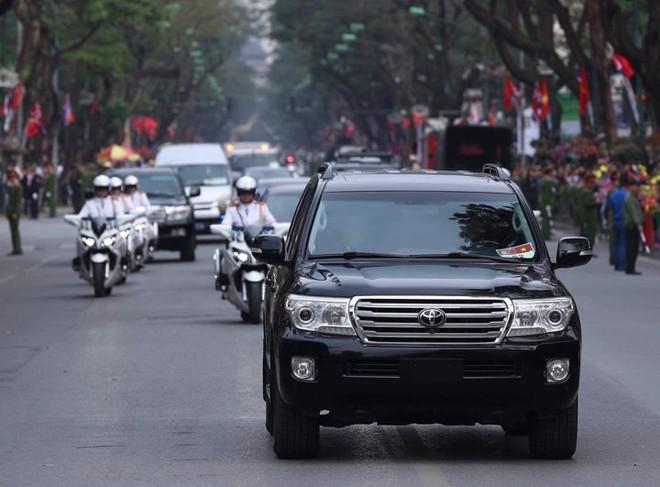 Toàn cảnh Lễ đón Chủ tịch Triều Tiên Kim Jong Un thăm chính thức Việt Nam - Ảnh 3.