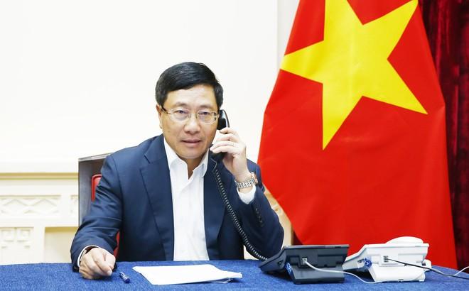 Bộ trưởng Ngoại giao Phạm Bình Minh điện đàm, yêu cầu Malaysia trả tự do cho Đoàn Thị Hương