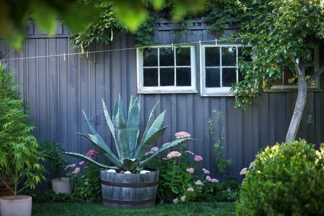 Ngoại thất ngôi nhà đẹp như mơ sau khi cải tạo nhờ bàn tay khéo léo của vợ chồng trẻ - Ảnh 13.
