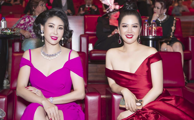 Hoa hậu Đinh Hiền Anh và Hà Kiều Anh đoạt giải Nữ hoàng Đêm hội chân dài