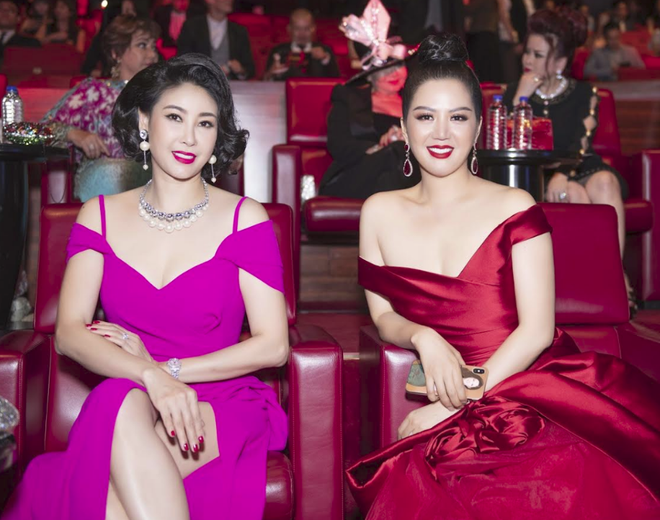 Hoa hậu Đinh Hiền Anh và Hà Kiều Anh đoạt giải Nữ hoàng Đêm hội chân dài - Ảnh 2.