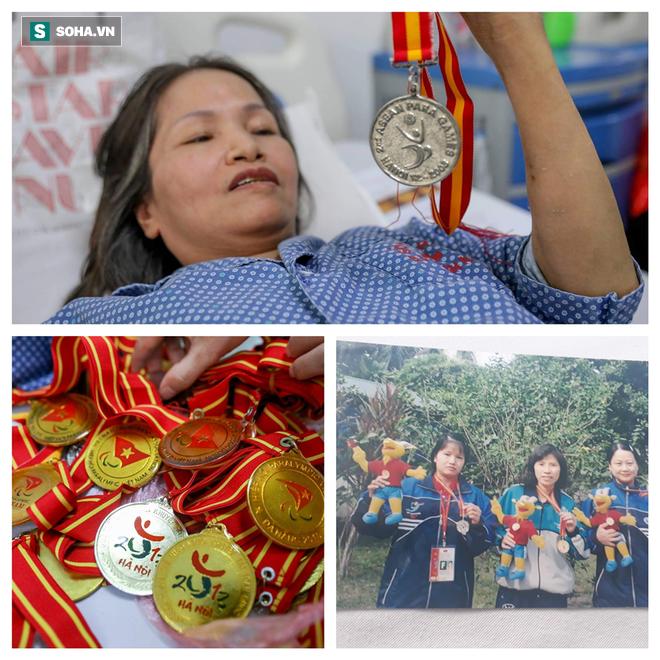 Hà Nội: Đau lòng nữ vận động viên khuyết tật vật lộn với bệnh ung thư, mong chờ phép màu - ảnh 4