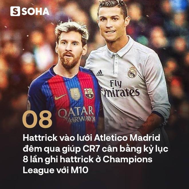 Ở đấu trường danh giá nhất châu Âu, Ronaldo làm gỏi Messi không thương tiếc - Ảnh 3.