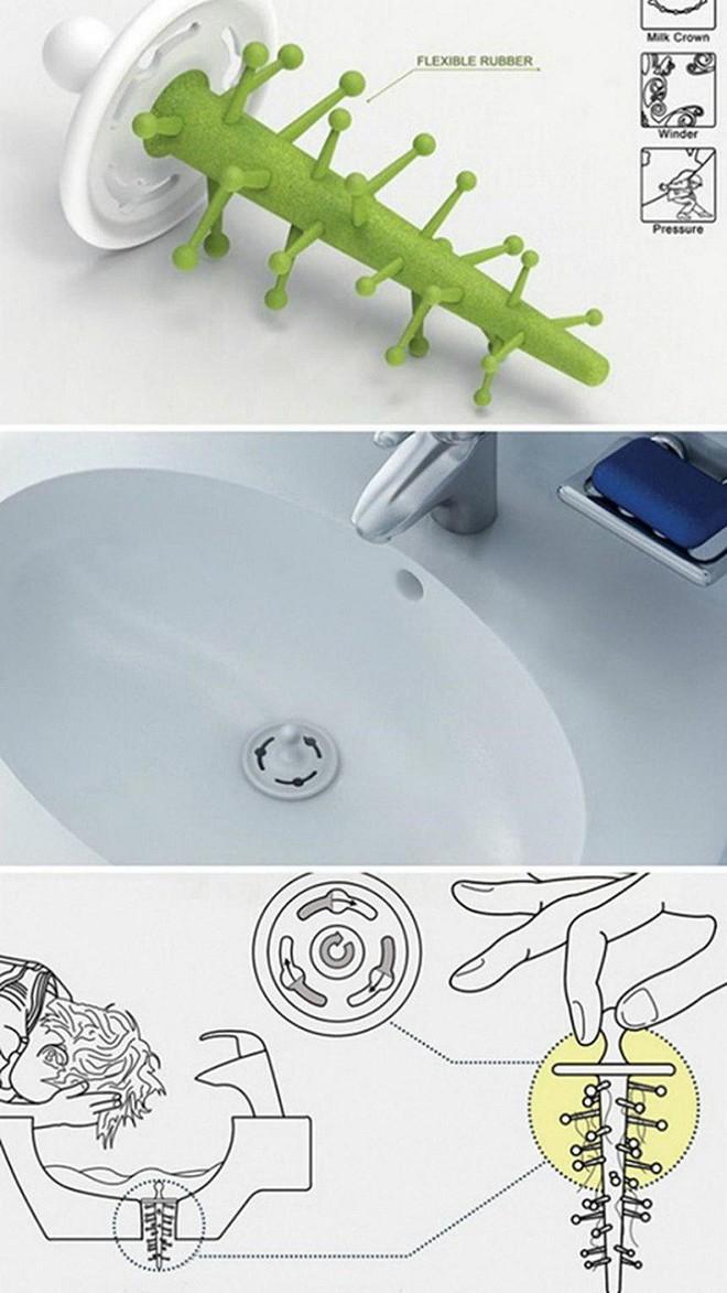 20 phát minh tuyệt vời có thể giúp giải quyết toàn bộ các vấn đề trong phòng tắm của bạn - Ảnh 6.