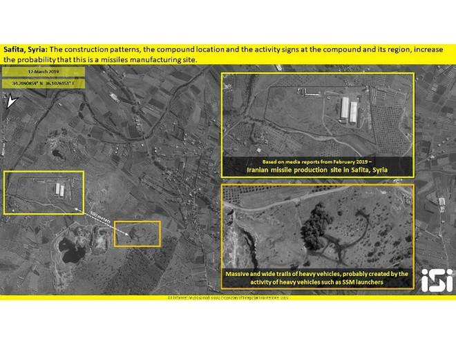 Cơ sở sản xuất tên lửa Iran phía tây Syria xuất hiện trên hình ảnh vệ tinh - Ảnh 1.