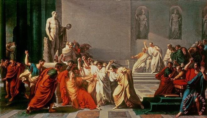 Đúng ngày này hơn 2.000 năm trước, Caesar đã chết thảm vì 23 nhát dao ám muội - ảnh 4
