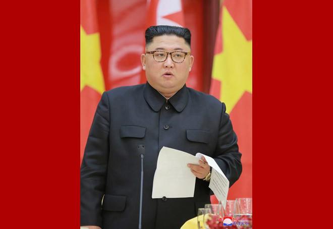Tiệc chiêu đãi Chủ tịch Kim Jong-un tại Hà Nội qua ống kính phóng viên Triều Tiên - Ảnh 9.