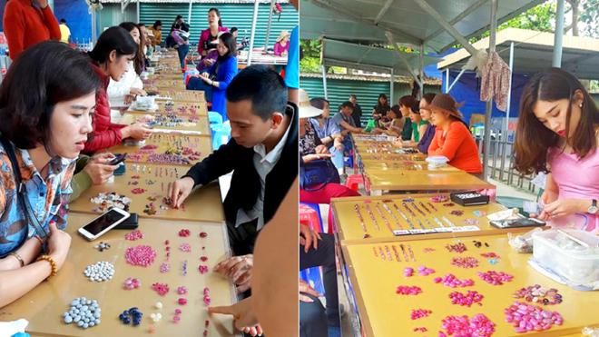 Chuyện lạ ở Việt Nam: Bán đá quý tiền tỷ tại chợ tạm ven đường - Ảnh 9.