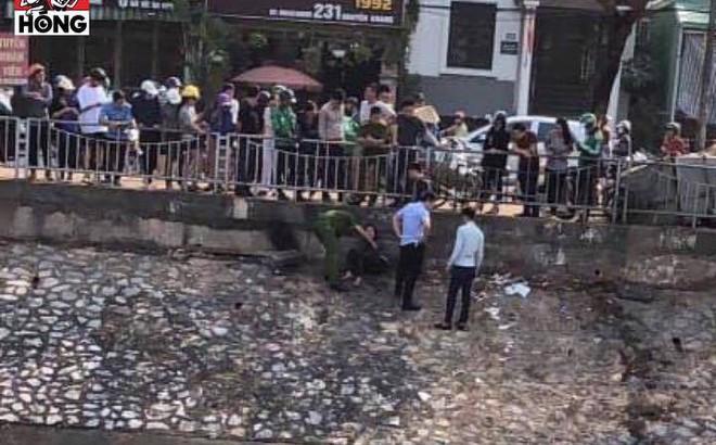 Nghi buồn chuyện tình cảm, cô gái trẻ trầm mình xuống sông Tô Lịch tự tử không thành