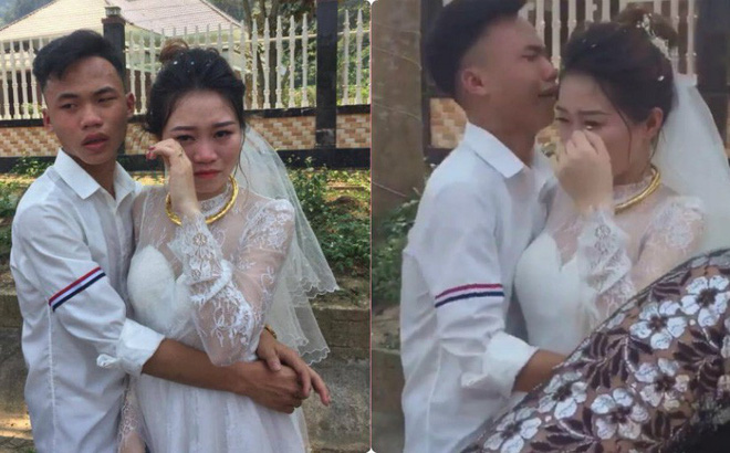Ngày tiễn chị lấy chồng, em trai khóc đỏ mắt, ôm mãi không chịu buông