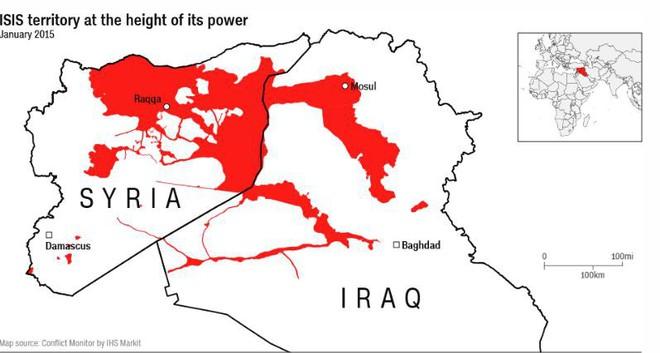 Lực lượng do Mỹ chống lưng ở Syria tuyên bố chiến thắng, đánh đuổi IS ra khỏi thành trì cuối cùng - Ảnh 1.