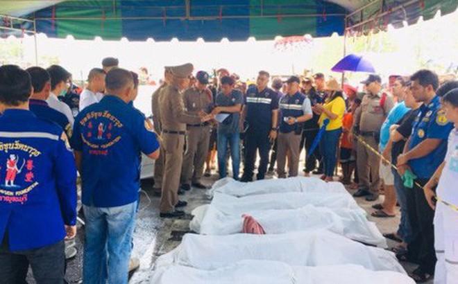 Danh tính 5 người Việt tử nạn trong vụ đâm ô tô thảm khốc ở Thái Lan