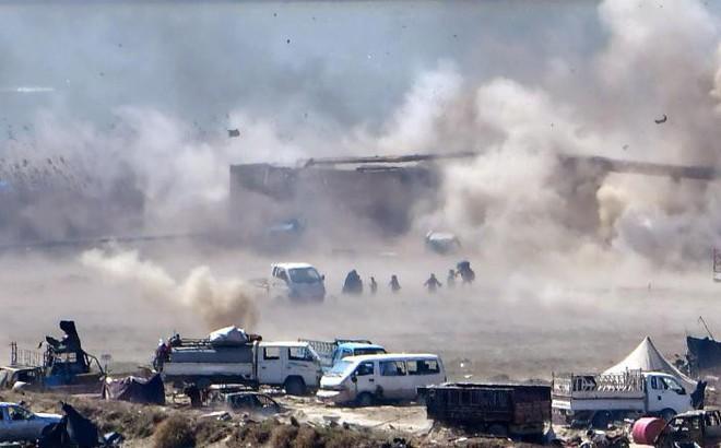 """Lực lượng do Mỹ """"chống lưng"""" ở Syria tuyên bố chiến thắng, đánh đuổi IS ra khỏi thành trì cuối cùng"""