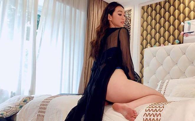 """Khánh My khi tung ảnh nóng nhưng bị dân mạng """"bóc"""" chi tiết nhạy cảm giống hệt Hoa hậu Kỳ Duyên"""