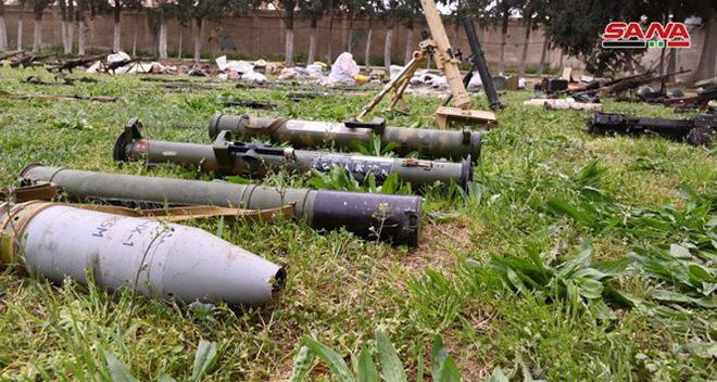 Quân đội Syria tiếp tục thu hoạch số lượng lớn vũ khí trang bị có nguồn gốc phương Tây - Ảnh 2.
