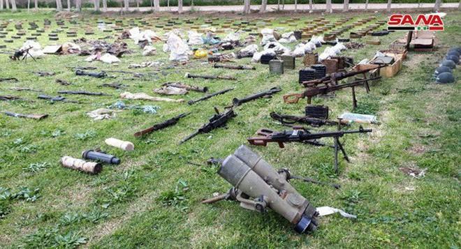 Quân đội Syria tiếp tục thu hoạch số lượng lớn vũ khí trang bị có nguồn gốc phương Tây - Ảnh 4.