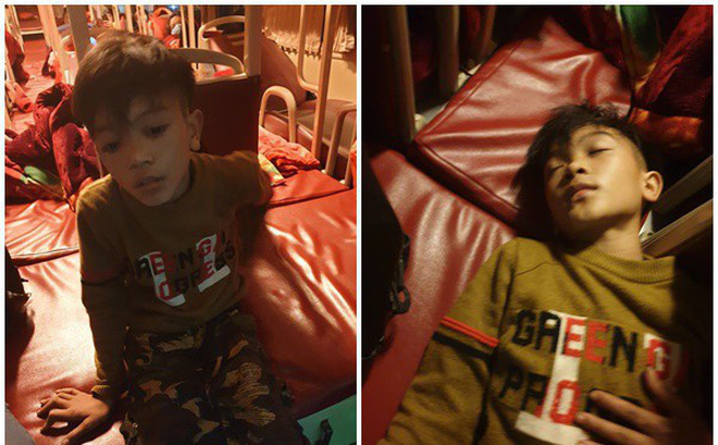 Nghẹn ngào clip cậu bé 13 tuổi đạp xe 100km từ Sơn La về Hà Nội thăm em nằm viện